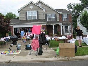 cash advance online or garage sale