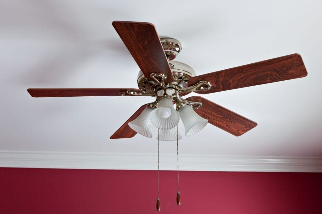 Using A Ceiling Fan help with the budget